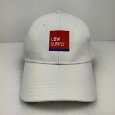 L&W Supply Building Construction Materials Strapback Hat Cap Nwot