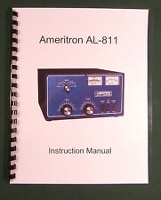 Ameritron AL-811 Instruction Manual - ring bound with protective covers!