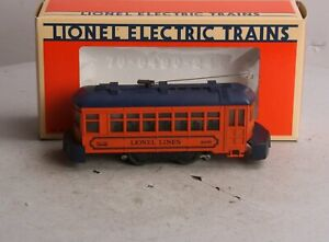 Lionel 6-8690 Lionel Lines Trolley Car LN/Box