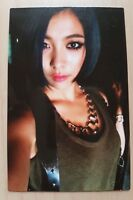Fx f(x) Red Light official LUNA photo card ( First Press ) rare and limited