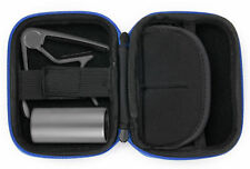 Hard Blue EVA Shell Case / Box for Guitar Accessories - Capo, Slide & Plectrums