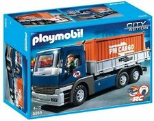 PLAYMOBIL 5255 Cargo Truck with Container NEW SEALED