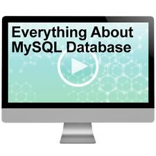 Everything About MySql Database Training Course