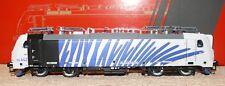 HS ACME ac60406 e Lok 186.442 TRAXX della. 'Lokomotion' Zebra Design Blu