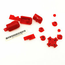 Red Button Trigger Hinge Cover D-Pad A B X Y Set For Nintendo DS Lite DSL NDSL