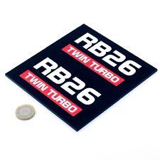 Nissan RB26 Sticker Decal Nismo Car Vinyl 100mm x2 Nissan Skyline R32 R33 R34