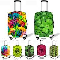 18-28 inch Rose Fashion Clear Travel Luggage Cover Suitcase Protector Anti-Dust