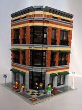 LEGO CITY BARNES AND NOBLE - STARBUCKS COFFEE CUSTOM MODULAR BOOKSTORE BUILDING