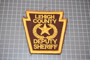 Lehigh County Pennsylvania Deputy Sheriff Patch (US-Pol)