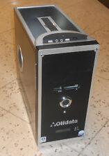 ATX MIDI TOWER - OLIDATA - schwarz / silber - gebraucht