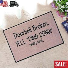 US Funny Festival Welcome Doormat Indoor Outdoor Rubber Floor Mats Non Slip Rug