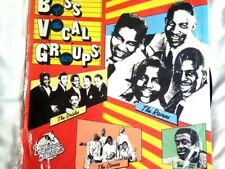 VARIOUS: Boss Groups Of The 60's LP (UK, bass fronted Vocal Groups)