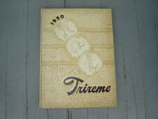 """1950 Ford City High School Yearbook """"Trireme""""  Pennsylvania"""