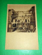 Cartolina Milano - Università Cattolica del Sacro Cuore dopo l' attacco del 1943
