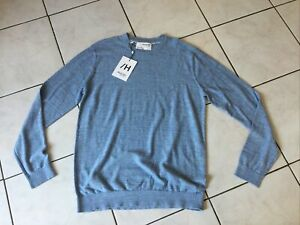 Pull SELECTED/Homme taille L/XL bleu ciel neuf
