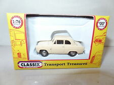 Classix EM76866 1/76 OO Scale Ford 100E Popular 2 Door Beige 1959-62