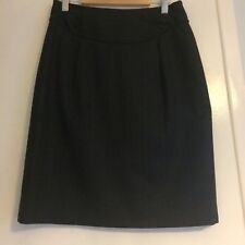 Austin Reed Wool Tailored Pencil Skirt 8