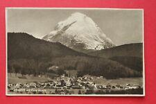 Tirol AK Seefeld 1920er Hohe Munde Ortsansicht Gebäude Architektur