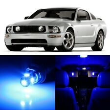 9 x Ultra Blue Interior LED Lights Package For 2005- 2009 Ford Mustang +TOOL
