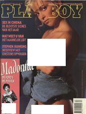 Dutch Playboy Magazine 1990-11 Jacqueline Sheen, Madonna, Gabriella ...