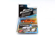 Dom's Plymouth Road Runner Fast and Furious orange 1:55 Jada Toys