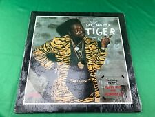 TIGER Me Name Tiger ORIGINAL RAS LP IN SHRINK