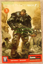 GEARS of WAR #1 GameStop Exclusive Variant Edition Wildstorm Comic