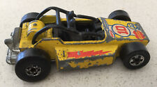 1975 HOT WHEELS Rock Buster Dune Buggy Yellow Used
