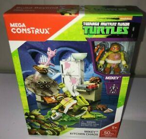 Mega Construx  Mikey Kitchen Chaos Set DXY13 Teenage Mutant Ninja Turtles TMNT