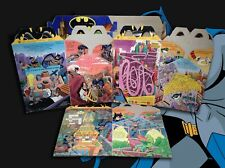 Batman The Animated Series McDonalds & Taco Bell Happy Meal boxes set