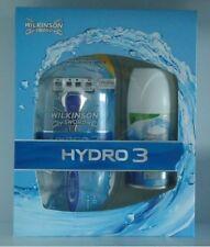 Wilkinson Hydro 3 Geschenkset Rasierer Rasiergel NEU OVP