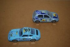 Raro Rally Burago Porsche 911 & Golf 1:43 Escala