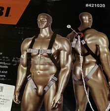 Safety Harness Fall Protection Kit Full Body Harness Shock Absorbing