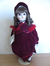 """Gorham Doll Collection Porcelain Stephanie """"Love is a Many Splendid Thing"""" 18"""""""