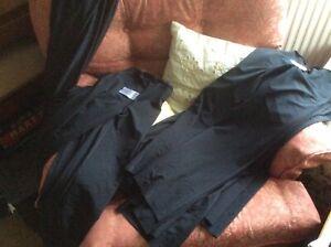 Black Lycra Jazz Pants