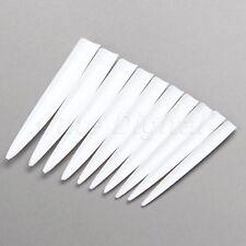 10Pcs Natural Extra Long Sharp Nail Tips False Point Uv Gel Nail Art Salon Tips