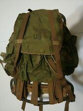 Military Lightweight Rucksack 1967 Nylon Duck Backpack