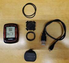 Garmin Edge 500 Red/Carbon  Black GPS Bike Cycling Computer