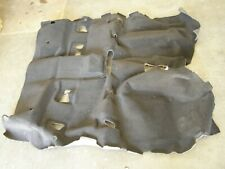 NOS OEM Ford 2011 Super Duty Truck Carpet F250 F350 Regular Cab Black