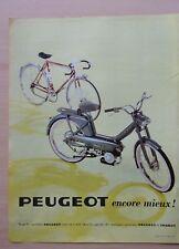 page de publicite  CYCLOMOTEURS PEUGEOT  101-102   en 1967    ref. 53906