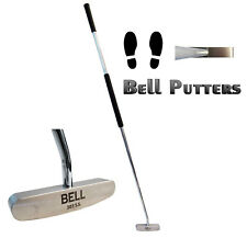 """Bell Side Saddle Face On Right Hand 400g Blade Golf Putter-43"""" Shaft-Tacki-mac"""