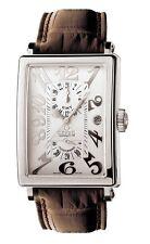 Gevril Men's 5020 Avenue of Americas Swiss Automatic ETA 2892 GMT Date Watch