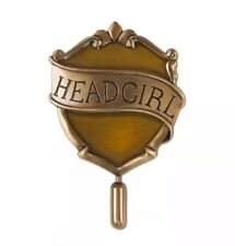 Universal Studios Harry Potter Hufflepuff Head Girl Pin New with Card