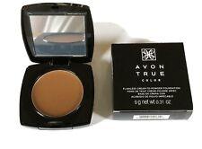 Avon True Color ~ Flawless Cream-To-Powder Foundation ~ Dark Cocoa ~