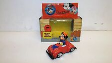 CO TOYS DIECAST MINNIE MOUSE IN CAR WALT DISNEY 1983 1:43 ITALY ESCI MIB (Z213)
