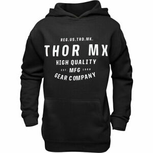Thor Crafted Youth Fashionable Casual Wear Hoodie Black