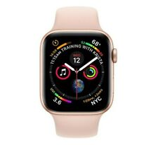 Apple Watch Series 4 (A1977) GPS Only - 40mm Silver Aluminum/Pink Sport Band