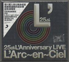 L'Arc-en-Ciel: 25th L'Anniversary LIVE (2018) 2-CD NEW