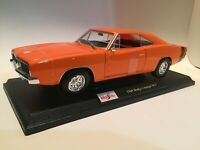 New 1969 Dodge Charger RT  Die Cast Maisto Special Edition 1:18 scale
