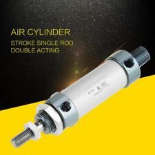 25mm Bore 25mm Stroke Aluminum Single Rod Pneumatic Air Cylinder Double Acting
